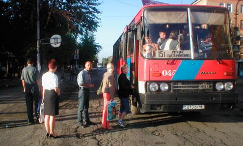 Автобус 151 Ревда-Екатеринбург