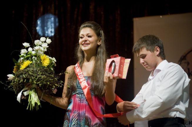 Катя в 2010 году.