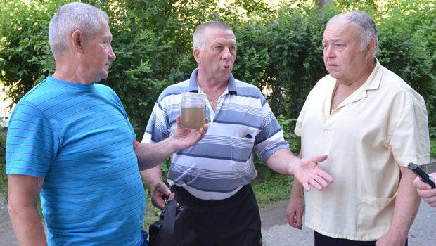 Ревдинцы Юрий Юрин, Анатолий Шемятихин и Борис Черкизов