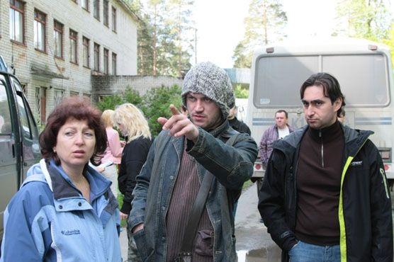 Василий Сигарев и съемочная группа в Ревде