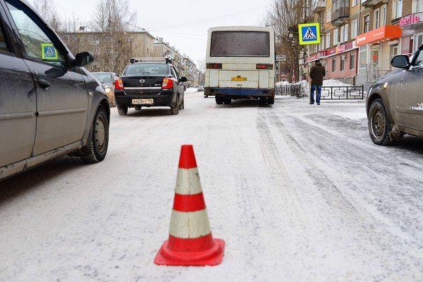 Тормозной путь автобуса. Фото// Владимир-Коцюба-Белых, Ревда-инфо.ру