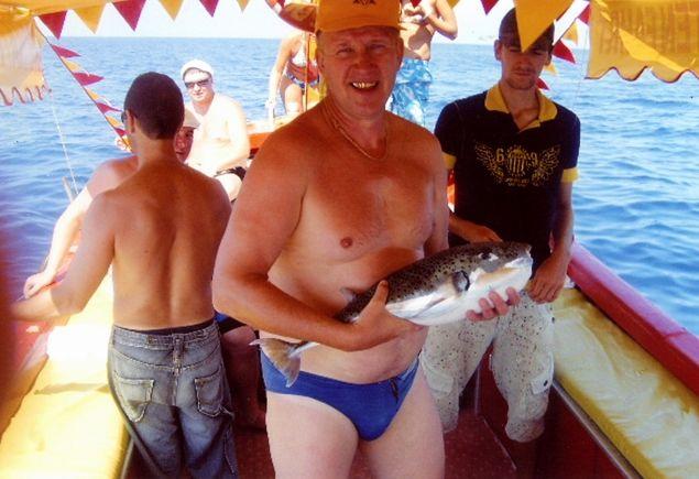 2010 год, Михаил Едугин рыбачит на Средиземном море.