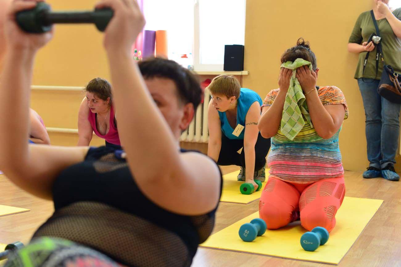 как ребенку похудеть в животе