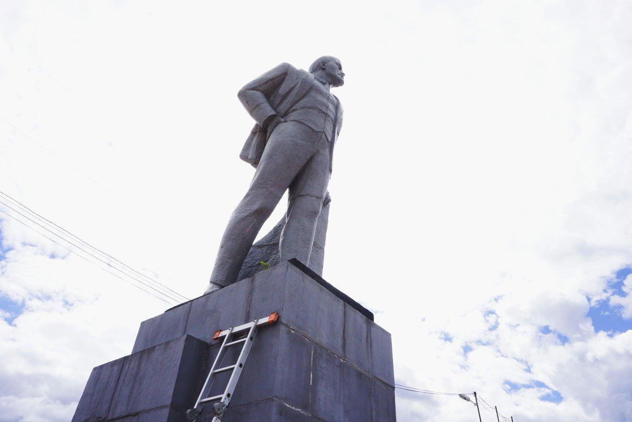 Ревда. Что будет с памятником В.И. Ленину?