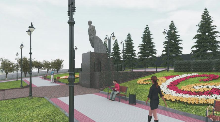 В Ревде презентовали проект Ленинского сквера. Но каким он все ...